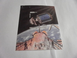 Miniature Sheet Imperf Space Exploration 1984 - Guinea (1958-...)