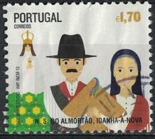 Portugal 2013 Oblitéré Used Fêtes Traditionnelles Notre Dame De Almortão Idanha A Nova SU - Usati