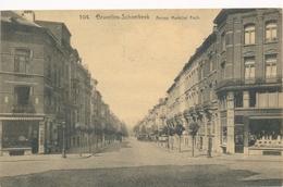 CPSM - Belgique - Brussels - Bruxelles - Schaerbeek - Avenue Marechal Foch - Schaarbeek - Schaerbeek