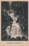 AM32 Triberger Wasserfalle, Germany's Biggest Waterfall - Art Postcard - Triberg