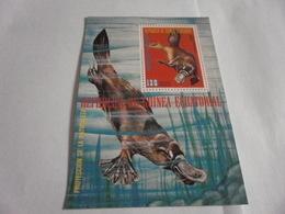 Miniature Sheet Perf Protection Of Nature - Equatorial Guinea