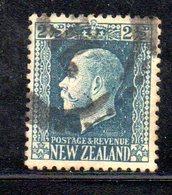 APR1078 - NEW NUOVA ZELANDA 1915 ,   Yvert  N. 151  Usato (2380A) - 1907-1947 Dominion