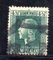 APR1079 - NEW NUOVA ZELANDA 1915 ,   Yvert  N. 155  Usato (2380A) - 1907-1947 Dominion