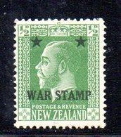 APR1080 - NEW NUOVA ZELANDA 1915 ,   Yvert  N. 168  * (2380A)  War - 1907-1947 Dominion