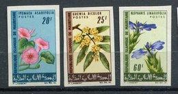 Mauritanie ** ND N° 209 - 210 - 213 Fleurs - Mauritania (1960-...)
