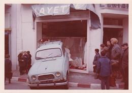 Ancienne Photo Accident Voiture Renault 4L Bretagne Finistère Douarnenez - Autres