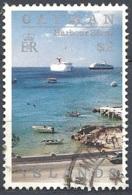 Cayman Isl., 1991 Harbor Scene, $2  # S.G. 735 - Michel 660 - Scott 646  USED - Cayman Islands