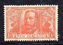 APR1081 - NEW NUOVA ZELANDA 1919 ,   Yvert  N. 174  Usato (2380A)  War - 1907-1947 Dominion