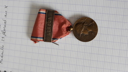 Médaille Bronze Verdun 1916 Aux Glorieux Défenseurs De Verdun - Francia
