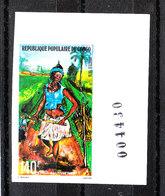Congo - 1978. Contadina Coltivatrice. Farmer Peasant. MNH Imperf. Rare - Agricoltura