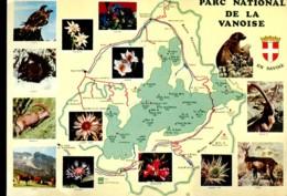 Parc National De La Vanoise En Savoie - Maps
