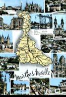 54 - Meurthe Et Moselle - Maps