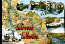 La Creuse - La Vienne - Maps
