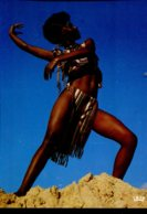 Afrique En Couleurs : Folklore Africain - Jeune Danseuse - Cartes Postales