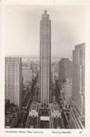 AR27 Rockefeller Center, New York City - RPPC - Manhattan
