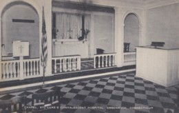 AR27 Chapel, St. Luke's Convalescent Hospital, Greenwich, Connecticut - United States
