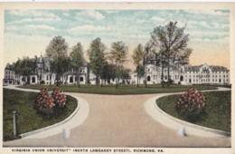 AR27 Virginia Union University, North Lombardy Street, Richmond, Va - Richmond