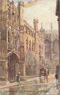 """W. Matthison. Cambridge. King's  College"" Tuc Oilette PC # 7802 - Tuck, Raphael"