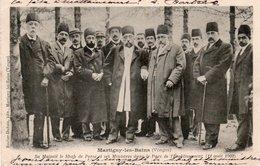 LE SHAH DE PERSE-1902-MARTIGNY LES BAINS - Iran
