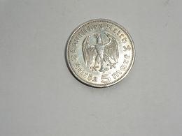 Monnaie De Germanie - 5 Reichsmark -maréchal Paul Von Hindenburg 1936 Argent Lettre A En TTB+ - [ 4] 1933-1945 : Troisième Reich