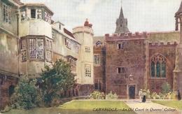 """""""W. Matthison. Cambridge. QUEENS COLLEGE  College"""" Tuc Oilette PC # 7802 - Tuck, Raphael"""