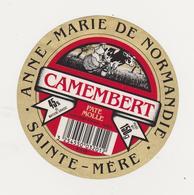 ETIQUETTE DE PETIT  CAMEMBERT ISIGNY STE MERE - Fromage