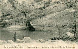 Cpa 34 Ravin Des Arcs -le Lac Prés De St Martin De Londres écrite Timbrée 1909 - Montpellier