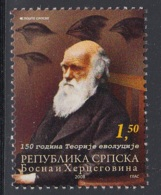 17.- BOSNIA I HERZEGOVINA MOSTAR 2008 150 Years Of The Theory Of Evolution - Charles Darwin - Arqueología