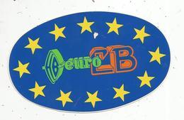 Autocollant , EURO CB ,  150 X 95 Mm - Autocollants