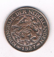 1 CENT 1927  NEDERLAND /4145/ - [ 3] 1815-… : Royaume Des Pays-Bas