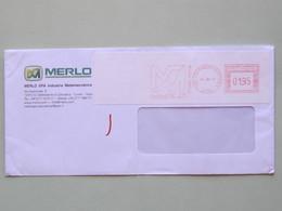 Industria Meccanica, Merlo, Carrelli Elevatori, 16-6-17 (A), Ema, Meter, Absender Freistempel, Affrancatura Meccanica - Fabbriche E Imprese