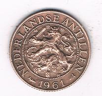 1 CENT 1961 NEDERLANDSE ANTILLEN /4147/ - Antilles Neérlandaises