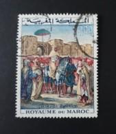 N° 471       Le Sultan Moulay Abderrahman à Mehnès  -  Oblitéré - Morocco (1956-...)