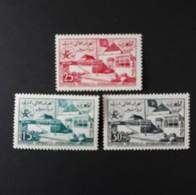 N° 383 à 385       Pavillon Du Maroc à Bruxelles 1958  -  Neufs Sans Charnières - Morocco (1956-...)