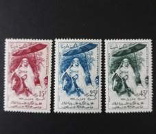 N° 390 à 392       Les 30 Ans De Mohammed V  -  Neufs Sans Charnières - Morocco (1956-...)