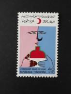 N° 827      Croissant Rouge Tunisien 1976  -  Neuf - Tunisia (1956-...)