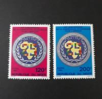 N° 611 Et 612      Commission économique Pour L' Afrique  -  Neufs - Niger (1960-...)