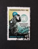 N° 91      Prix Nobel De La Paix 1988 Aux Casques Bleus - Centre International De Vienne