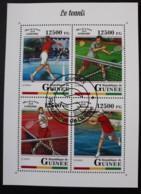 N° 9144 à 9147       Le Tennis  -  Oblitérés - Guinea (1958-...)