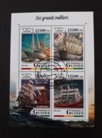 N° 9168 à 9171       Les Grands Voiliers  -  Oblitérés - Guinea (1958-...)