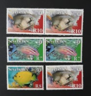 Poissons Des Seychelles -  Neufs 2005-2010 - Seychelles (1976-...)