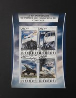 N° 1067 à 1070       Concorde  -  Oblitérés - Djibouti (1977-...)
