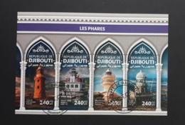 N° 2048 à 2051       Phares  -  Oblitérés - Djibouti (1977-...)