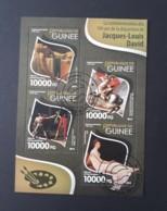 N° 8026 à 8029       Jacques-Louis David  -  Peintre  -  Oblitérés - Guinea (1958-...)