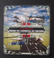 N° 3291 à 3294       Concorde  -  Oblitérés - Niger (1960-...)