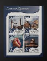 N° 3909 à 3912       Phares Et Coquillages  -  Oblitérés - Solomon Islands (1978-...)