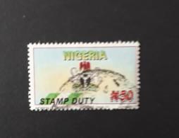 Stamp Duty  -  Oblitéré - Nigeria (1961-...)