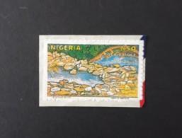 Rock Bridge  -  Adhésif  -  Oblitéré - Nigeria (1961-...)