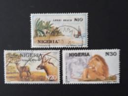 Lion  -  Antilope  -  Lekki Beach  -  Oblitéré - Nigeria (1961-...)