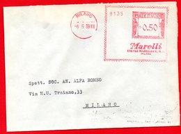 1939 - MARELLI ERCOLE - METER STAMP EMA FREISTEMPEL AFFRANCATURA MECCANICA - Poststempel - Freistempel